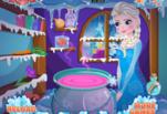 Играть бесплатно в Волшебство Эльзы
