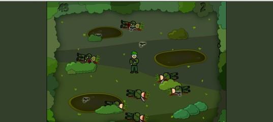 Игра Выживание солдата
