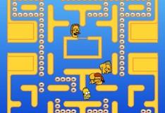 Игра Игра Симпсоны пакмен