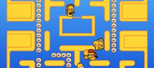 Игра Симпсоны пакмен