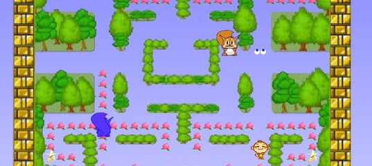 Игра Обезьяна Pacman