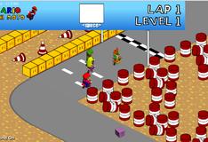 Марио участвует в гонке