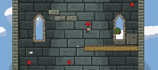 Приключение на воздушных шариках