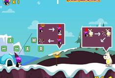 Игра Пингвины против белых медведей