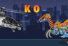 Игра Война роботов: собирать вертолет