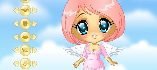 Игра Одежда для милого ангелочка