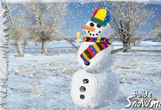 Игра Создай снеговика
