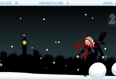 Игра Снежок