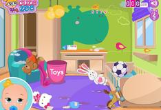 Игра Подготовка комнаты для маленькой Ляли