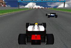 Гонщик Формулы 1 3D
