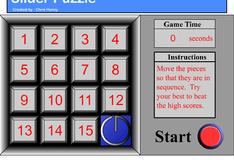 Игра Пятнашки