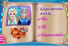 Игра Игра Тест Любовь Эльзы и Джека