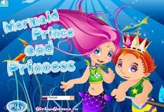 Игра Игра Принц и Принцесса Русалок