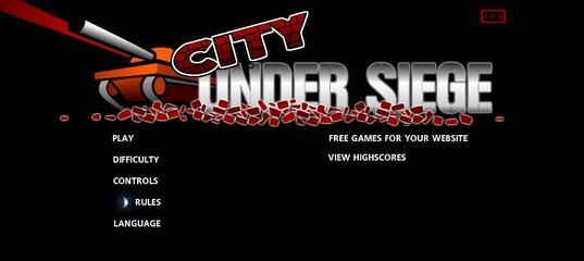 Игра Город под осадой