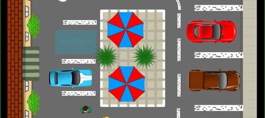 Игра Припаркуй авто в городе