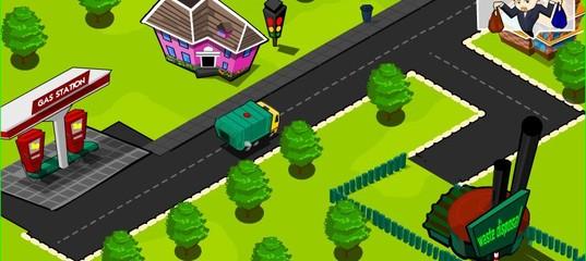 Игра Очистим зеленый город