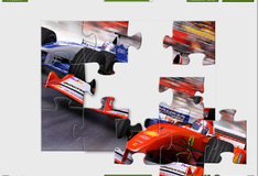Игра Формула 1 Пазл