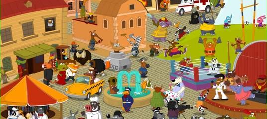 Игра Разноцветный город