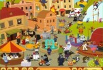 Играть бесплатно в Игра Разноцветный город