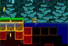 Игра Игра Майнкрафт Голодные игры с оружием