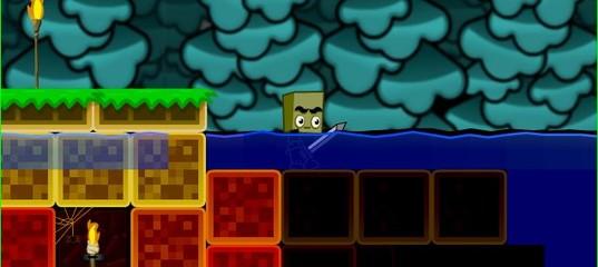 Игра Майнкрафт Голодные игры с оружием
