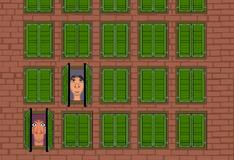 Игра Близнецы в окнах