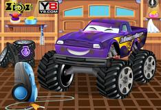 Игра Помыть монстр автомобиль