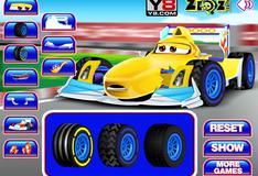 Мойка гоночного автомобиля
