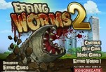Игра Effing worms 2
