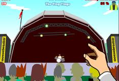 Игра Бутылочка на музыкальном фестивале