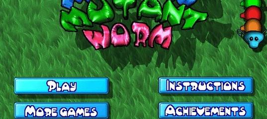 Игра Motley Mutant Worm