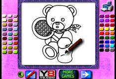 Игра Книжка раскраска для детей