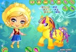 Играть бесплатно в Новый образ для маленькой пони