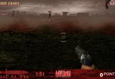 Игра Перестрелка с зомби