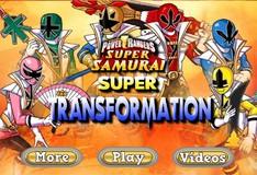 Игра Игра Могучие рейнджеры самураи: Супер трансформация