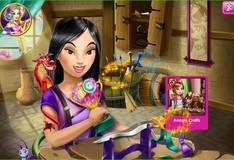 Игра Игра Творчество Принцессы Мулан