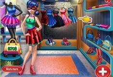 Игра Игра Леди Баг на шоппинге