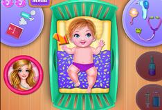 Малыш в госпитале