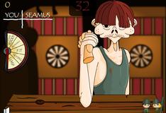 Игра Соревнование по арм реслингу в баре