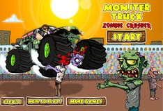 Игра Игра Монстр Трак дробилка зомби