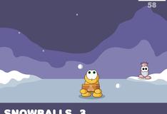Игра Ловить снежки