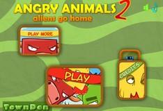 Игра Игра Злые Животные 2 Иностранцы домой