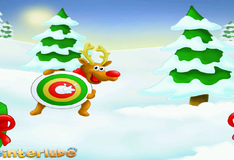 Игра Стрельба снежками