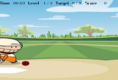Игра Бить битой на бейсболе