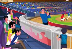 Влюбленные на стадионе