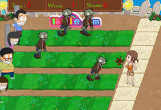 Игра Красота против зомби