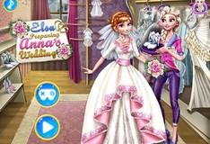 Игра Игра Одевалка: Свадьба Анны