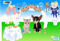Игра Свадебные наряды для зверушек