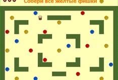 Игра Игра Собери цветные фишки