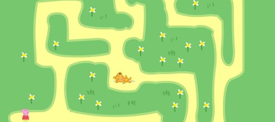 Игра Свинка Пеппа: Лабиринт